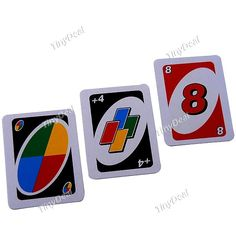 Funny MIni UNO Card Game Classic Family Game Playing Cards Toy (112 Sheet) TDS-311888