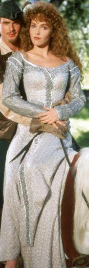 Maid Marian's Wedding Dress -- Robin Hood: Men in Tights (1993)