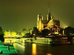 Paris, France is one of the most visited cities in the world. The world trade organisation has announced that with the tourists who will visit Paris this year, Paris At Night, Tour Saint Jacques, Places To Travel, Places To See, Paris Wallpaper, France Wallpaper, City Wallpaper, Ile Saint Louis, St Louis