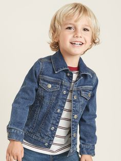 Built-In Flex Jean Jacket for Toddler Boys Boys Haircuts Long Hair, Toddler Boy Haircuts, Toddler Hair, Boy Hairstyles, Toddler Boys, Biy Haircuts, Medium Hair Cuts, Long Hair Cuts, Family Photo Outfits