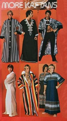 Suburban Men and Kaftans: two things that should never, ever combine.