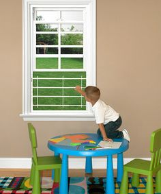 I'm buying these today.  Keep your kids safe with windows open.  Loving this 35'' Adjustable Window Guard on #zulily! #zulilyfinds