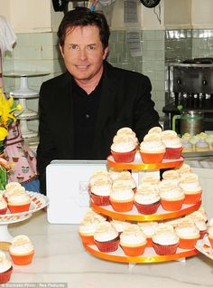 Michael J fox and Magnolia Bakery team up for Parkinson's awareness month