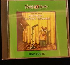 Arthur's Teacher Trouble by Marc Brown (1993, CD-ROM)