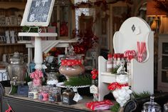 Red and White Christmas Ideas (Link Party Features)