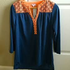Need this top in a large in my April fix please!! Pixley Embroidered V Neck Jersey Top.