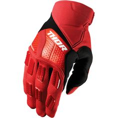 THOR REBOUND RED GLOVES Biker Gloves, Red Gloves, Motorcycle Gloves, Motocross Gloves, Motos Kawasaki, Thor Mx, Races Outfit, Rebounding, Tactical Gear