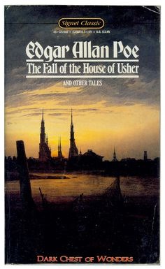 The Fall of the House of Usher and other tales - Edgar Allan Poe ~~~ Not my style of writing. I Love Books, Great Books, Books To Read, Ghost Stories, Horror Stories, Dark Stories, Classic Short Stories, Morning Pages, Horror Books