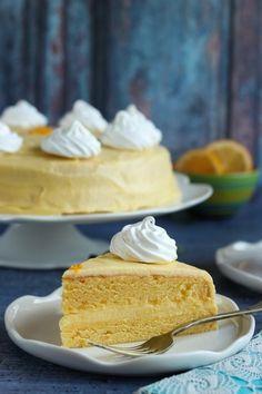Citromtorta recept Cake Cookies, Vanilla Cake, Fondant, Food And Drink, Recipes, Ripped Recipes, Gum Paste, Cooking Recipes