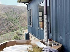 Shipping Container Homes & Buildings: Copia Eco Cabins: Two 40 ft Container Home in Bot Rivier valley by Berman-Kalil, South Africa