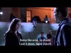 Pitch Perfect - The Riff-Off Lyrics my favorite part of the whole movie. :)