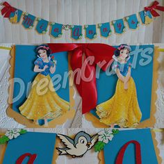 Check out this item in my Etsy shop https://www.etsy.com/listing/511815306/snow-white-banner-princess-banner