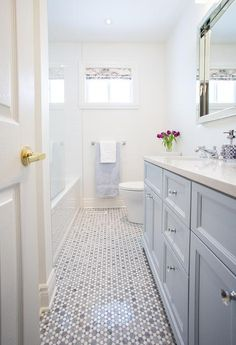 One Room Challenge Week 1: Bath Rooms Refresh via Sarah Sofia Productions