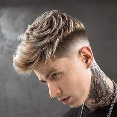 58 best ideas haircut for men short blonde Medium Length Hair Men, Medium Hair Cuts, Short Hair Cuts, Medium Hair Styles, Short Hair Styles, Haircut Medium, Trendy Mens Haircuts, Cool Haircuts, Hairstyles Haircuts