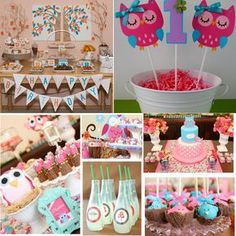owl themed party - Pesquisa Google