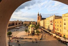 https://flic.kr/p/gBx7CH | Kraków's Main Square (Rynek Główny w Krakowie), Poland (UNESCO world heritage site) | Wikipedia: Kraków's Main Square (Polish: Rynek Główny w Krakowie) is the main market square of the Old Town in Kraków, Poland, and a principal urban space located at the center of the city. It dates back to the 13th century, and — at roughly 40,000 m² (430,000 ft²) — is the largest medieval town square in Europe. The Project for Public Spaces (PPS) lists the square as the best…