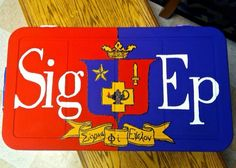 Sigma phi epsilon crest cooler top side SPE sigep