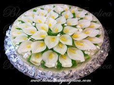 blossoms by angelica  | Para la jente que le gusta ser creativa esta es una perfecta gelatina ...