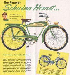 This looks just like my restored 1953 Schwinn!