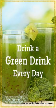 Drink a Green Drink Every Day - Oh Lardy :: Want all the Oh Lardy awesomeness delivered right to your inbox?  Grab our newsletter here: https://il313.infusionsoft.com/app/form/d0d7082c8e0308d3bca548dedc511cae