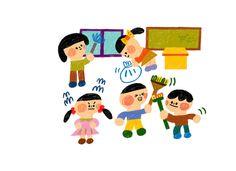 [윰마 일러스트]- 어린이 그림체를 닮은(?) 색연필 일러스트 작업 : 네이버 블로그