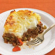 Cheddar-Topped Shepherd's Pie Recipe Main Dishes with baking potatoes ...