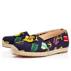 Christian Louboutin Mom And Dad Womens Flat