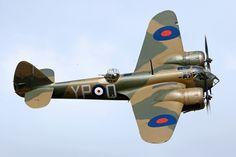 Bristol Blenheim Mk.IF by Daniel-Wales-Images on @DeviantArt