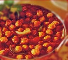 Chana Masala - Chick peas sauteed with Onion, Tomato Sauce and Mild herbs. The Kohinoor Restaurant | Indian, Nepali & American Cuisine | Baltimore, MD