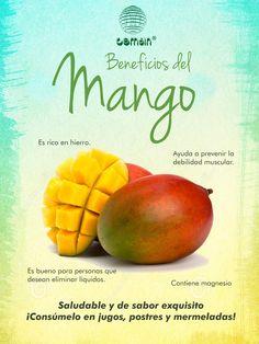 Una fruta de exquisito sabor y saludable!!!