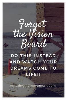 Vision Board Alternative: If Vision Boards feel like an elementary school art project and aren't getting the results you want . try this instead practice makes perfect daily practice to improve your life. Motivational Blogs, Inspirational Blogs, Creating A Vision Board, Manifestation Law Of Attraction, Visualisation, Secret Law Of Attraction, How To Manifest, Positive Affirmations, Affirmations Success