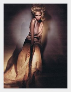 great upswept editorial hair
