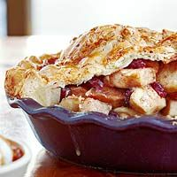 My kids love this pie.  On my list of things to do today.  Alan's Apple-Cranberry Pie