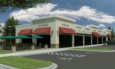 strip mall floor plan - Google Search