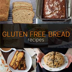 Having a family full of different meal restrictions is difficult, but we all strive to make it as enjoyable as possible.  Here are some great ideas!  7 Gluten Free Bread Recipes | Recipes | NoshOnIt
