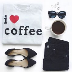 "Chaser I ❤️ Coffee Tee Super cute antique white tee. Graphic that says ""i ❤️ coffee"" on the front. Raw hems on sleeves and bottom hem. Relaxed, slightly oversized fit makes this super comfy and easy to wear 👍🏻 I have way too many coffee lover tees so I'm letting this one go lol First pic credit to @lulus Instagram 📷 Reasonable offers can be made using offer button. 26"" long, 16"" across.  Condition: Brand new, never worn  🚫Trades  Please ask any questions prior to purchasing. All sales…"