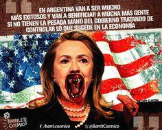 Hillary Clinton, política estadounidense #Economía #Argentina //  #Frases #Citas