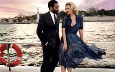 Photos: The Silk Road: Kate Moss and Chiwetel Ejiofor – Vogue