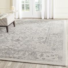 Safavieh Carmel Vintage Beige/ Blue Distressed Rug (10' x 14') - Free Shipping Today - Overstock.com - 19446537