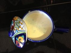 Miguel s Jalapeno Cream Sauce from Food.com: My cousin shared this recipe with me after we had the sauce at a restaurant on Coronado Island. I've never made it at home, but know I enjoyed it at the restaurant. My cousin's advice: don't count the calories in this!!!!!