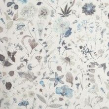 Liberty of London Floral Eve Milky Green Silk-Cotton Voile