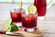 Cranberry Coconut Lime Rickey Mocktail. Place all ingredients from coconut water through soda water in a high ball glass and stir to combine. Squeeze in a fresh lime wedge & add ice. To make a cocktail add 1 ounce of gin.