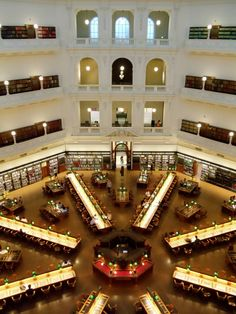 State Library - Melbourne, Australia - isn't this from city of angels?