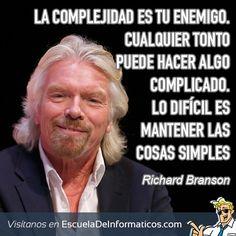 Richard Branson #motivación #tecnología