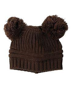 Pikaboo Woolen Bunny Baby Cap - Brown 6-24 M Wool http://www.firstcry.com/pikaboo/pikaboo-woolen-bunny-baby-cap-brown-6-24-m-wool/801494/product-detail