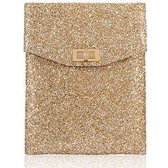 Glitter iPad Case (Gold)