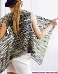 Tres chalecos irregulares….!!!! | Mi Rincon de Crochet