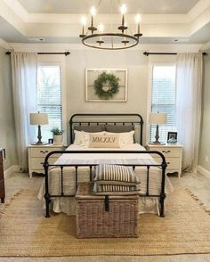 Lovely Farmhouse Style Master Bedroom Ideas That Will Impress You