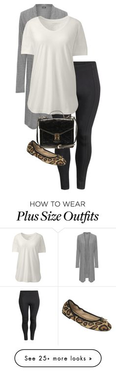 """""""Untitled #1925"""" by coolchick1630 on Polyvore featuring WearAll, H&M, Lands' End, ALDO, Sam Edelman and plus size clothing"""