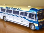 Scania Ciferal Bus Free Vehicle Paper Model Download